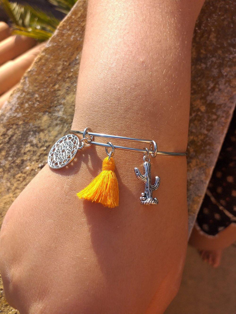 Bracelet jonc collection lucile