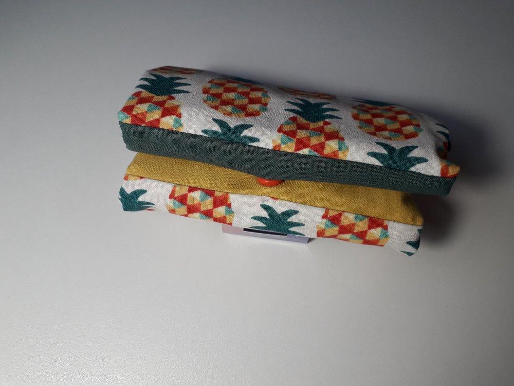 Sac en tissu pliable et réutilisable