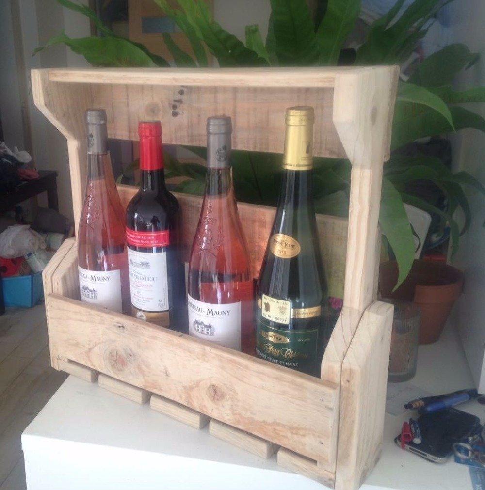 Étagère bar à vin