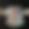 Gilet mandala bébé gilet circulaire bébé , gilet multicolore