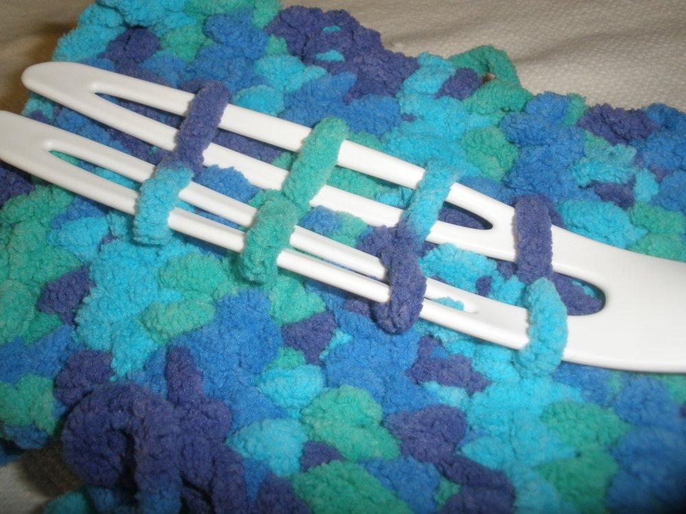 Recharge / housse /  lingettes  poussière pour plumeau  standart tons bleus