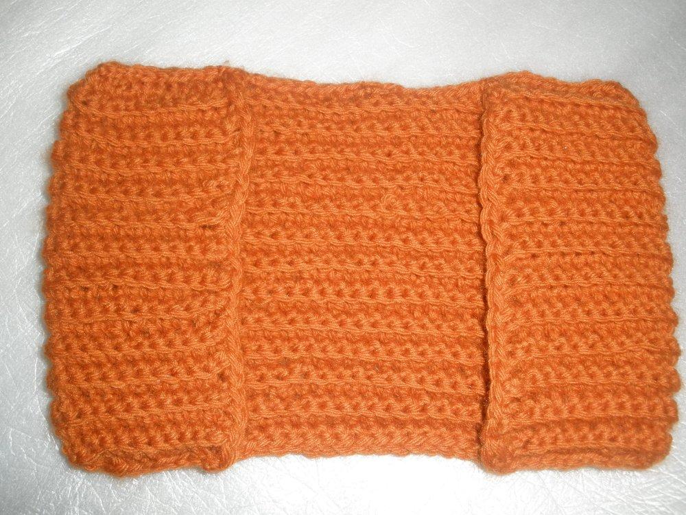 Recharge/housse/sepillière pur balai standart au crochet en  laine