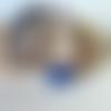 Collier femme pierre vénitienne rhodonite hématite et oeil de chat-destockage