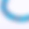 Corde de randonnée bleue au mètre