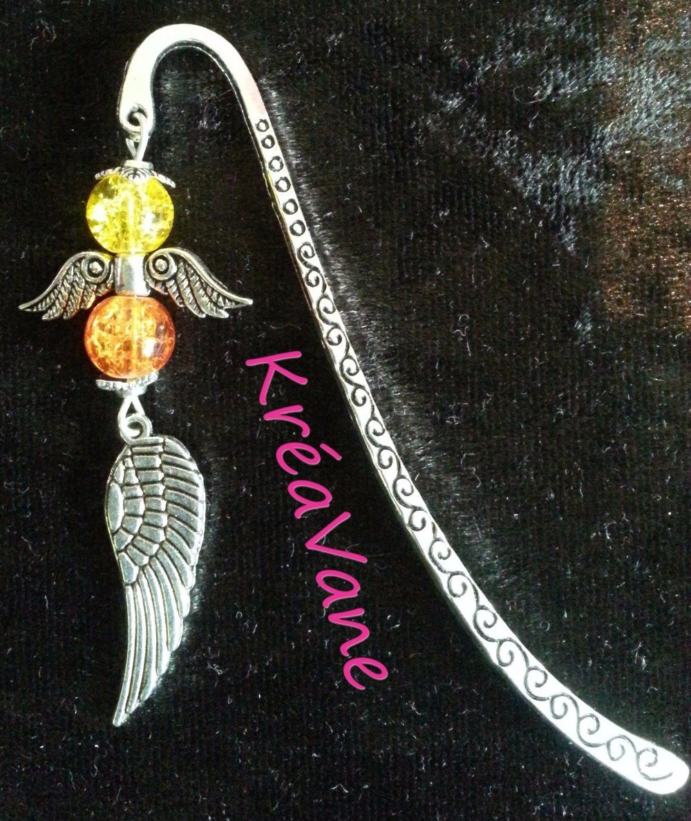 """MARQUE PAGE """"ANGE"""""""