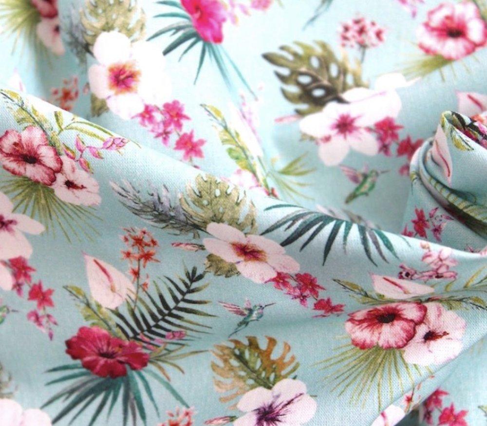 Bandeau de soin fleur d'hibiscus