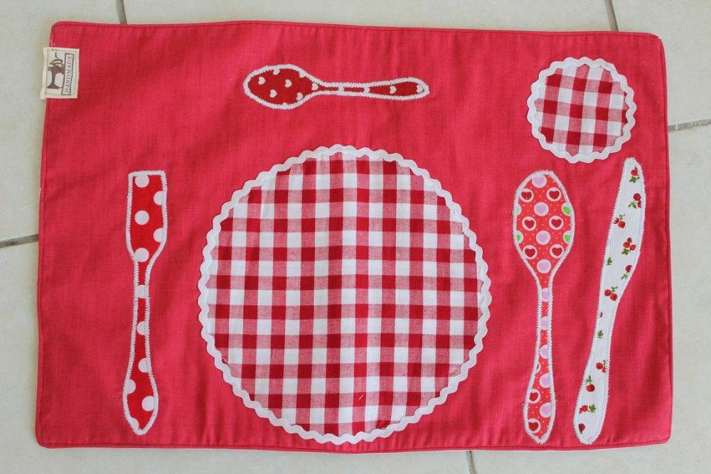 Set de table enfant (Methode Montessori)