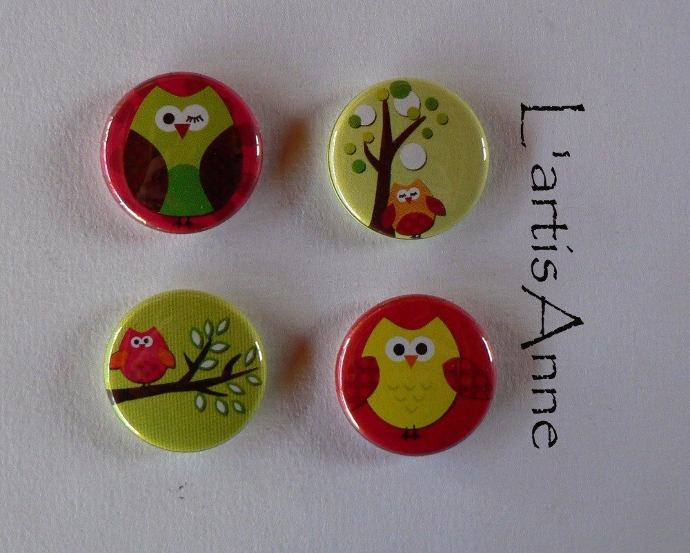 Magnets Aimants Chouettes