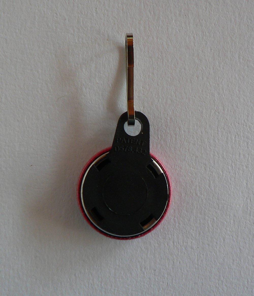 Tirette Zip Strap Badge Fermeture éclair Lot de 3 Chat.