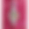 Pampille losange femme vintage