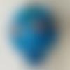 Petite montgolfière bleue