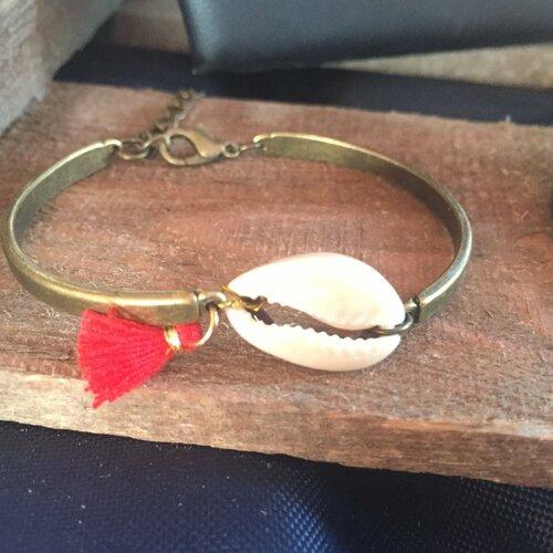 bracelet femme rose rouge