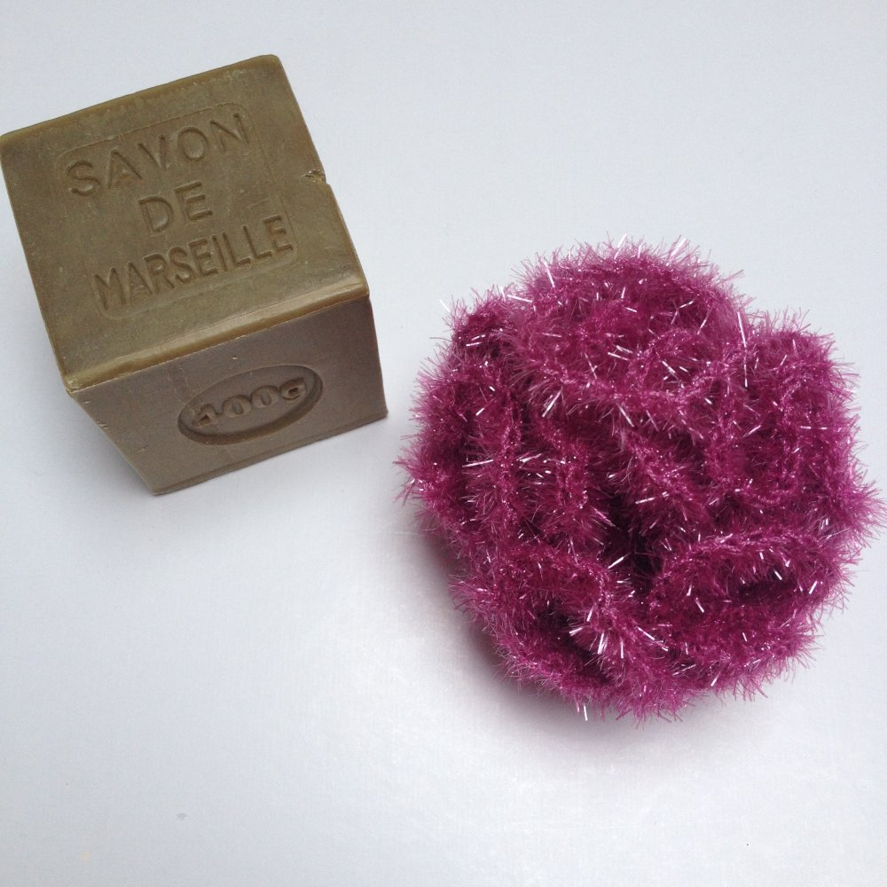 Tawashi - Fleur de douche - mauve