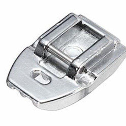 Pied pour fermeture éclair invisible, fixation clip