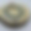Bracelet pour homme en pierres naturelle en turquoise et pierre de lave