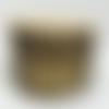 Boucles d'oreille feuille acier doré en œil de tigre, pierre naturelle