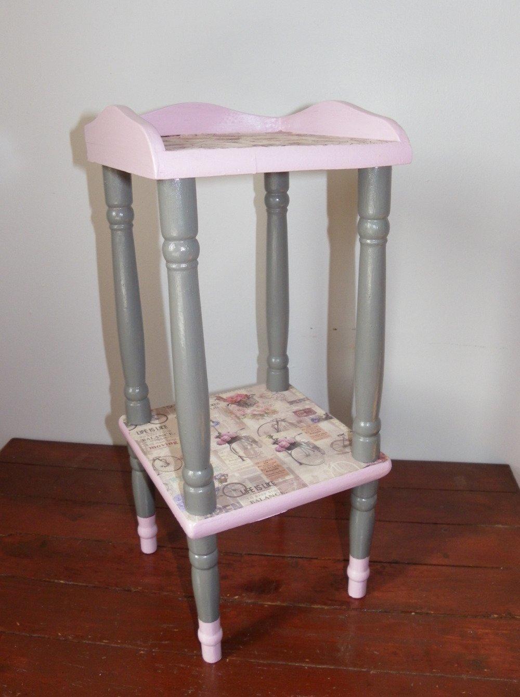 Petite Table De Nuit Bois petite sellette en bois - table de chevet