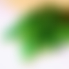 Lot de 150 perles tons vert en verre