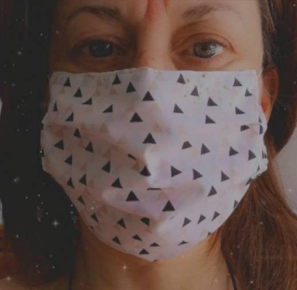 Masque barrière AFNOR 100% coton