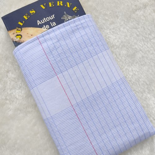 Pochette housse pour livre de poche