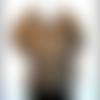 Haut blouse femme kaki