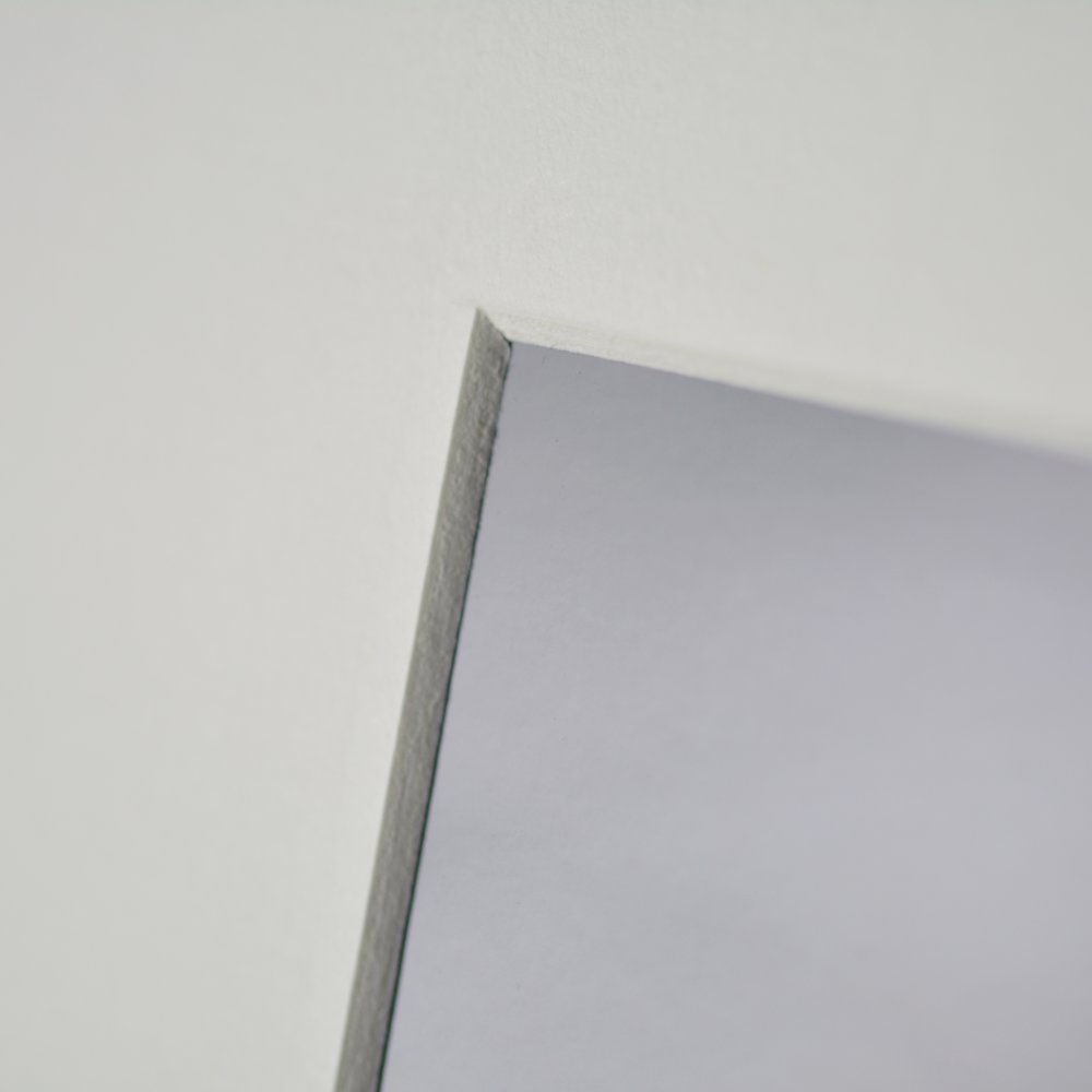 Impression photographique couleur - Feuilles givrées