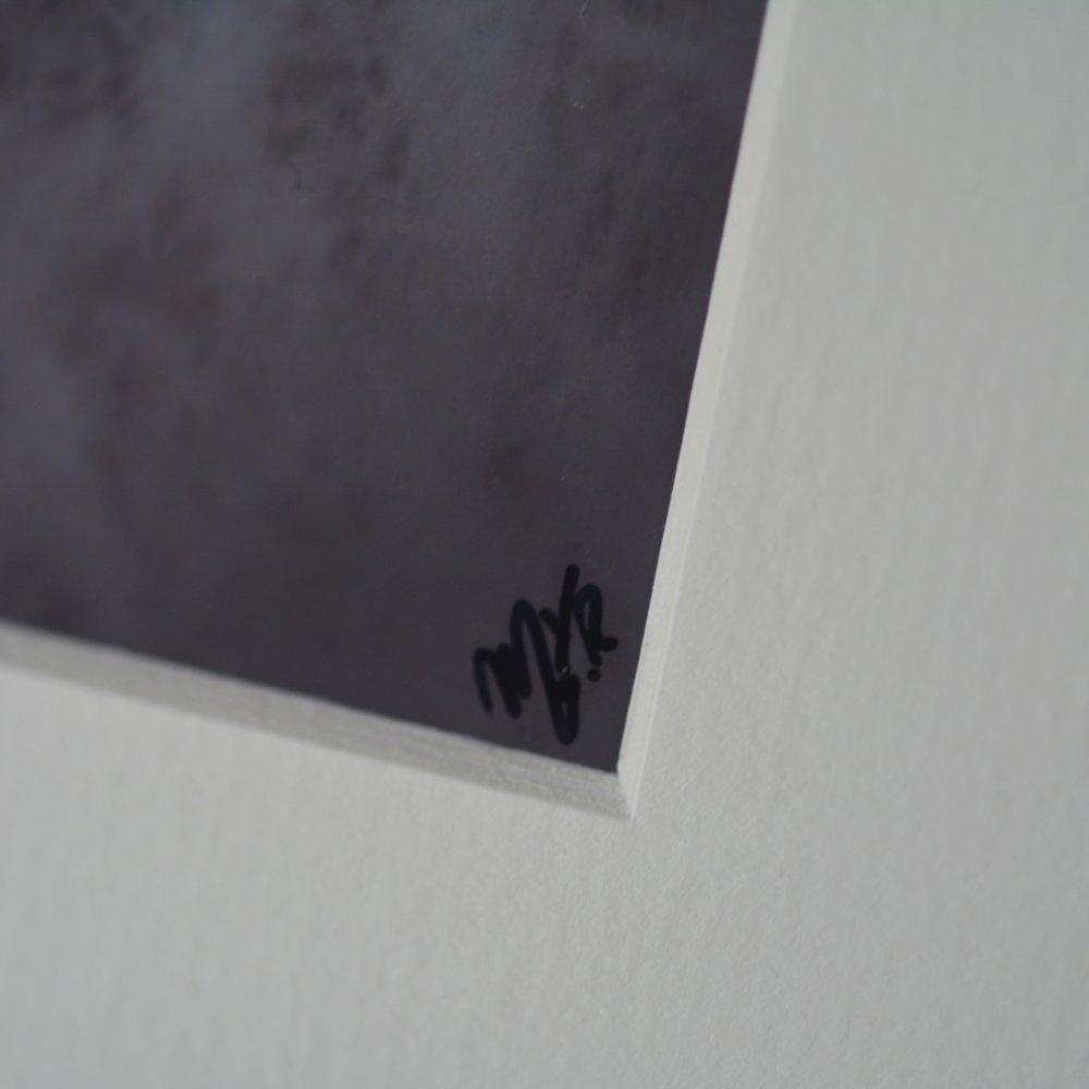 Impression photographique couleur - Hiver blanc