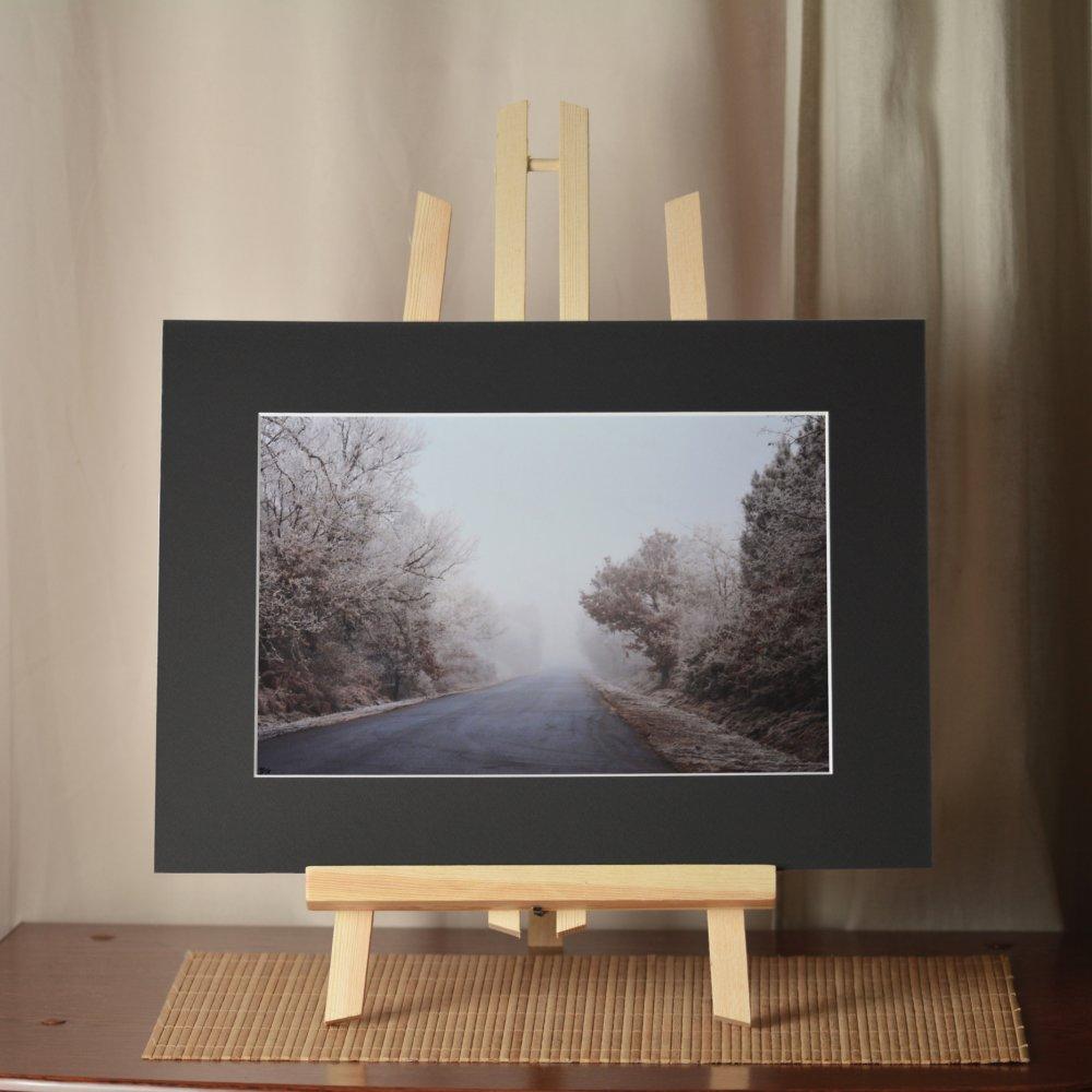 Impressions photographique couleur - Route