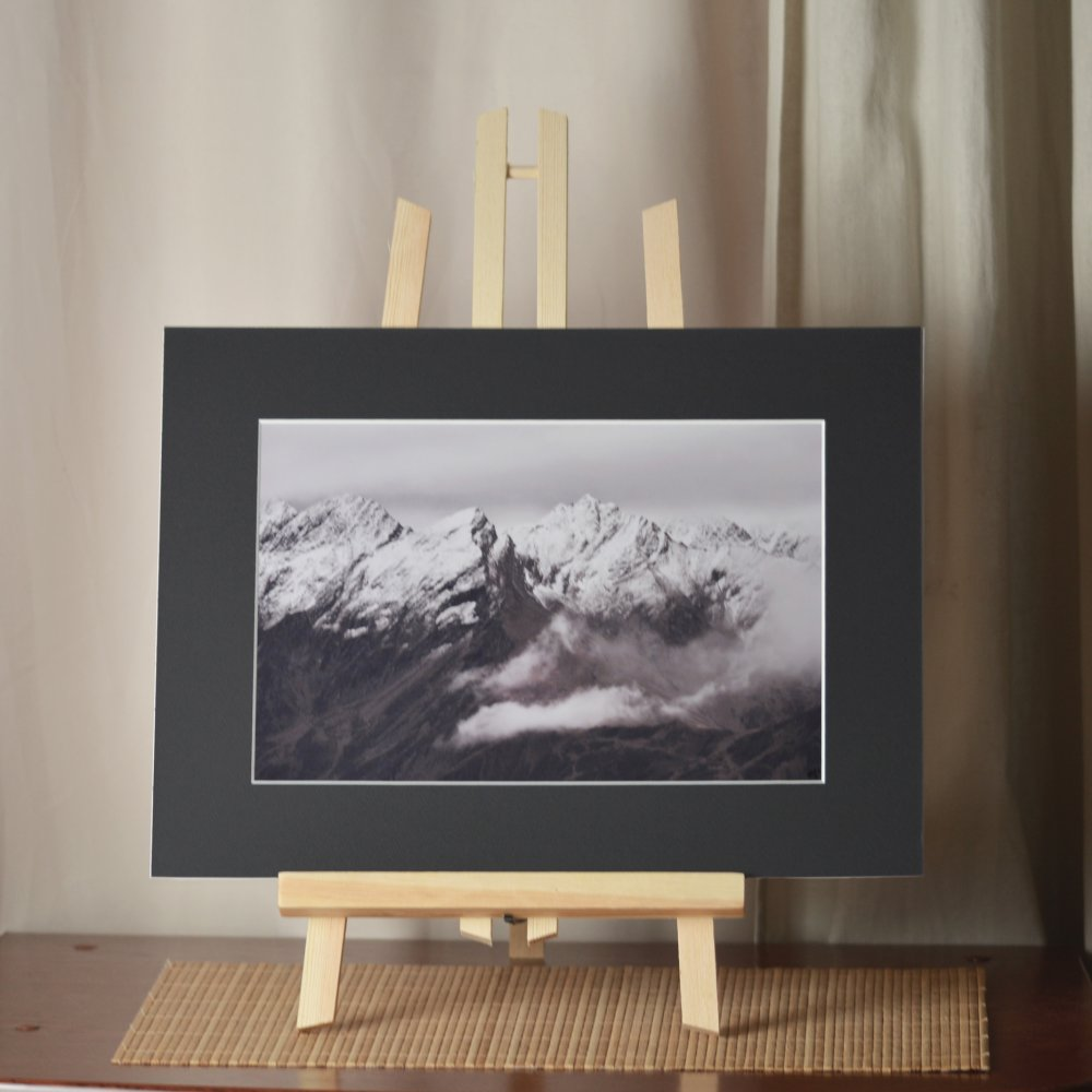 Impression photographique couleur - Montagnes