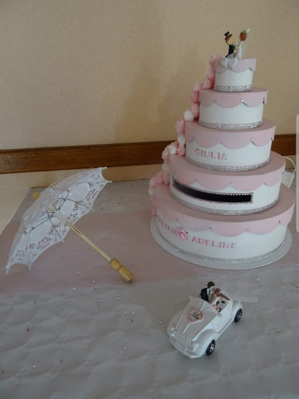 "Urne ""Wedding Cake"" personalisée"