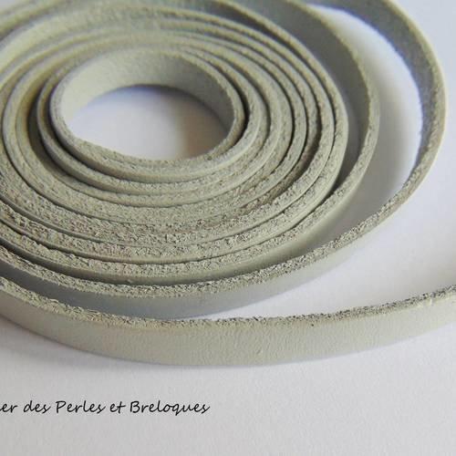 DonDon Fil de Cuir Marron Rouleau de 10 m/ètres DIY 1,5 mm