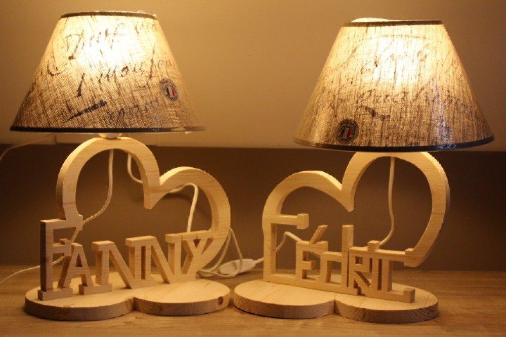 Lampes personnalisées