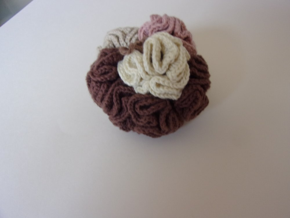 fleur de douche en coton
