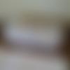 Trousse écolier, coton doublé interieur coeurs blancs ♡