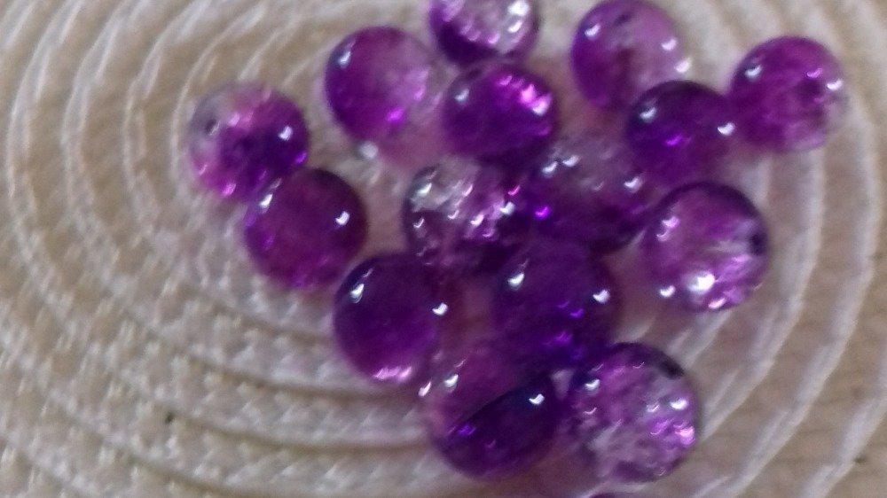 perle verre effet marbre différente couleur au choix