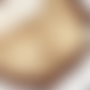 Connecteurs estampe fleur doré 32 x 32mm