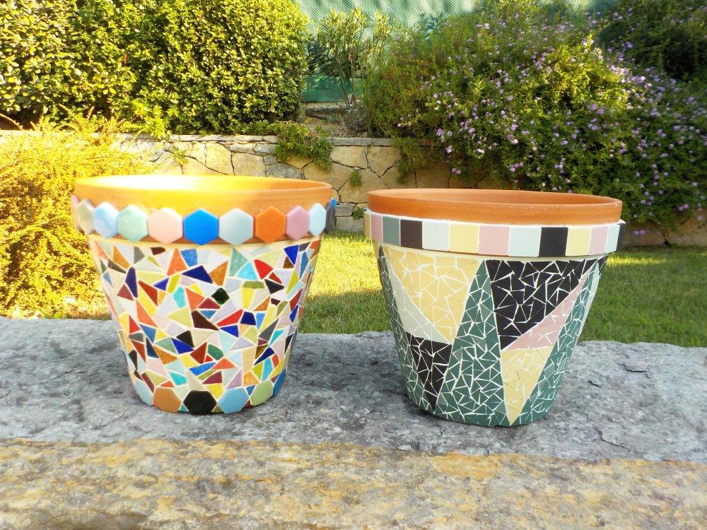 VENDUS,  Pots , mosaïque