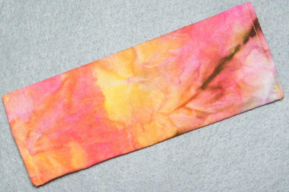 Trousses d'écolier en tissu teint main