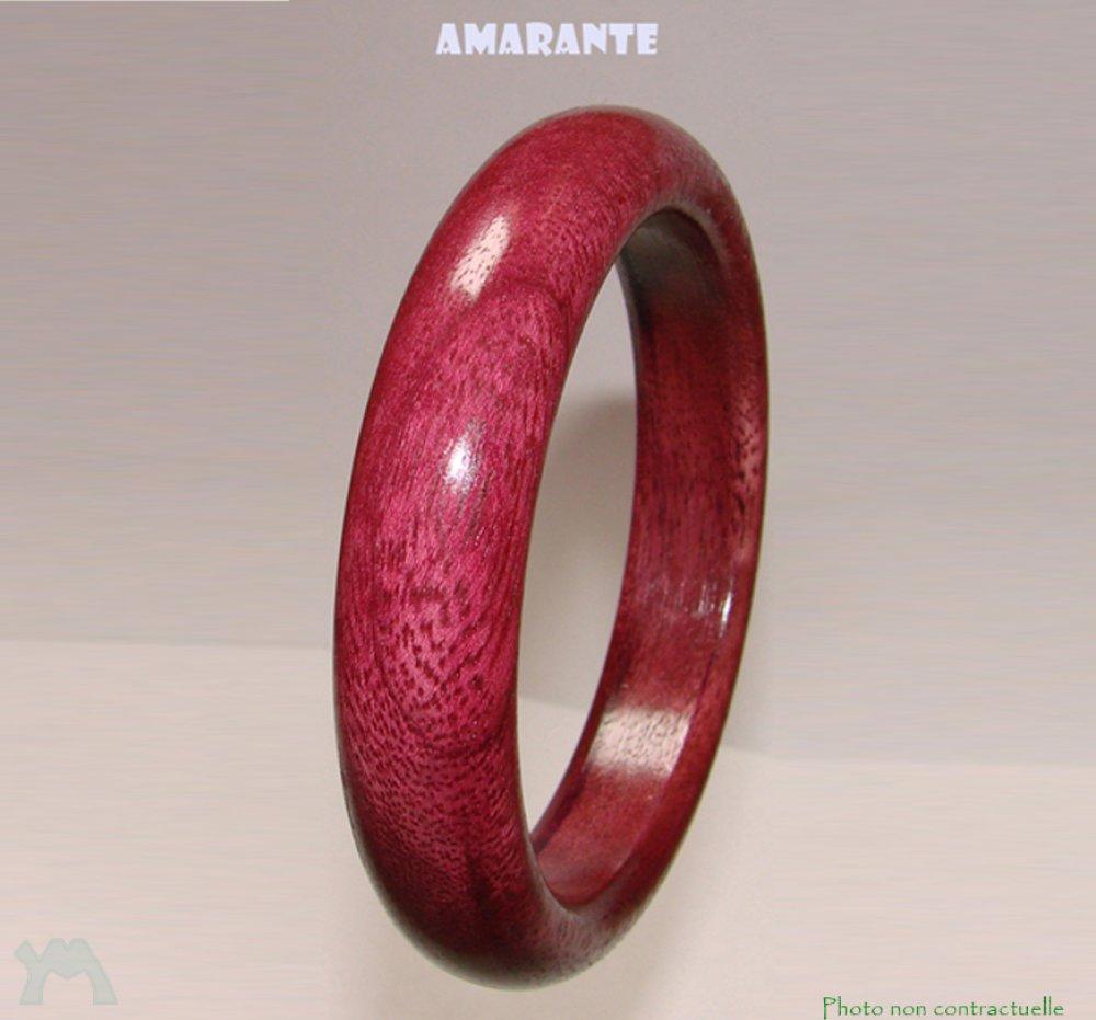 Bracelet bois Amarante