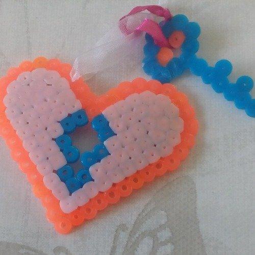 Grigri De Sac Ou Modèle Enfant Coeur Serrure Amour Pixel