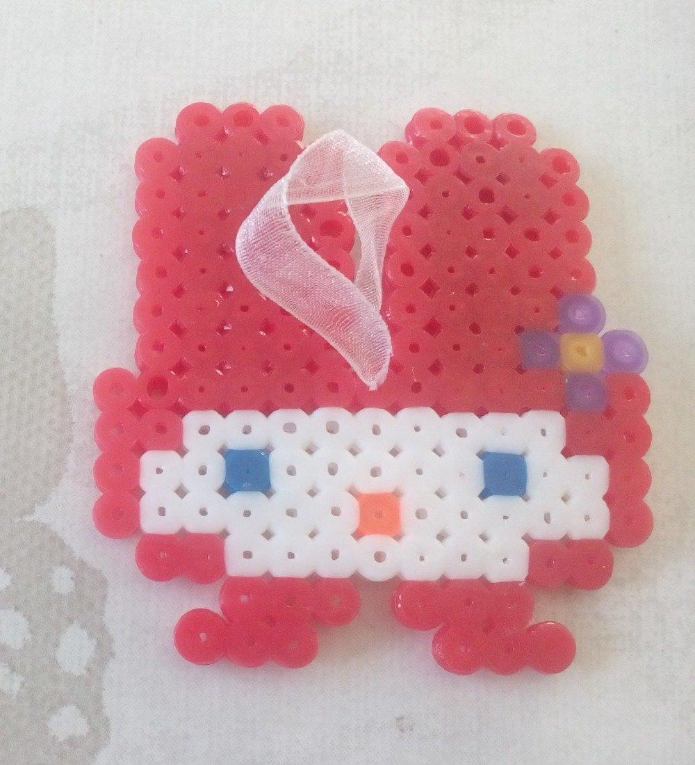 Grigri De Sac Ou Modèle Enfant Lapin Pixel Arts Hama Beads