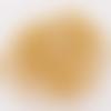 500 perles à écraser 2mm - doré