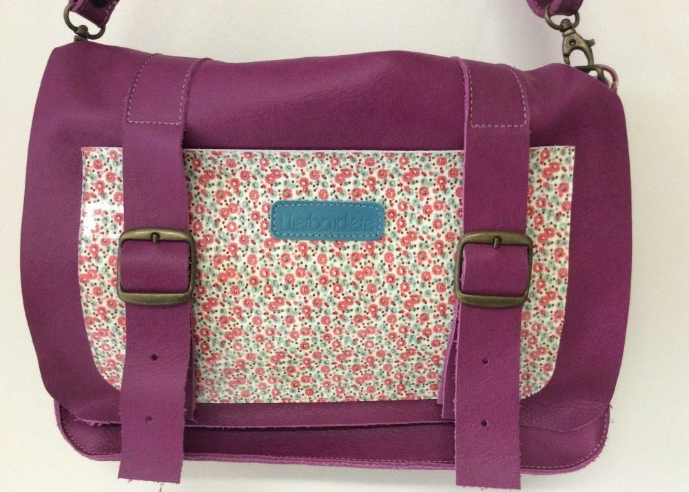 Cartable Lucy Fuschia