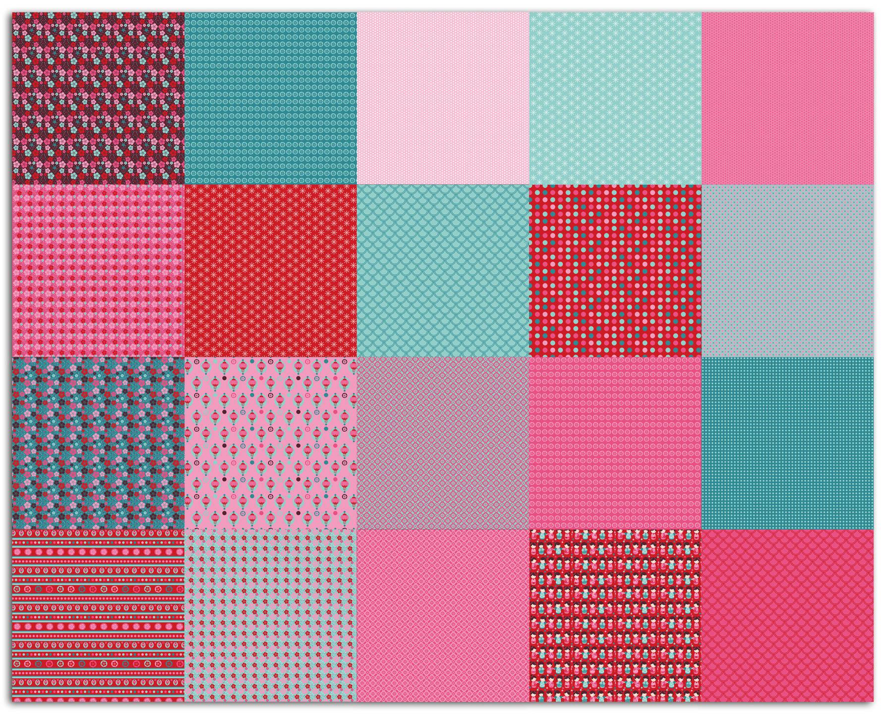 "Bloc papier origami ""Kokeshi"" de Toga"