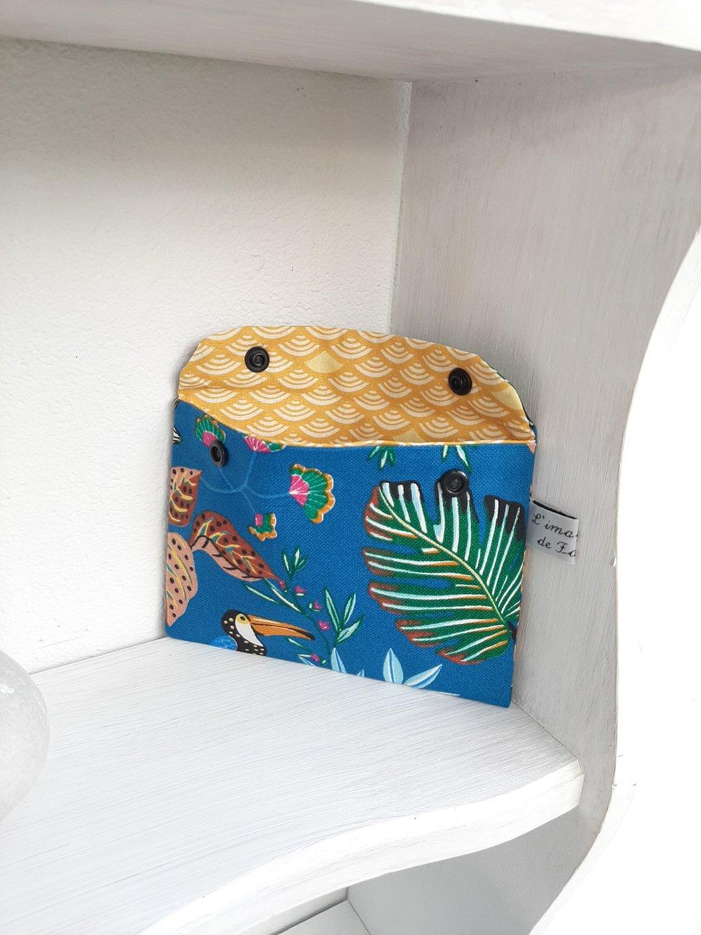 Pochette pour sac à main, toucan