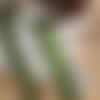 Un ruban de noël, tip top ! de berisford, flocon de neige, 15 mm de large, vert et or, vente au mètre