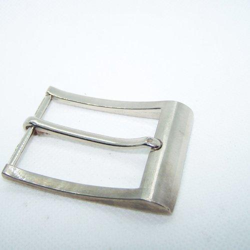 Boucle de ceinture métal agenté