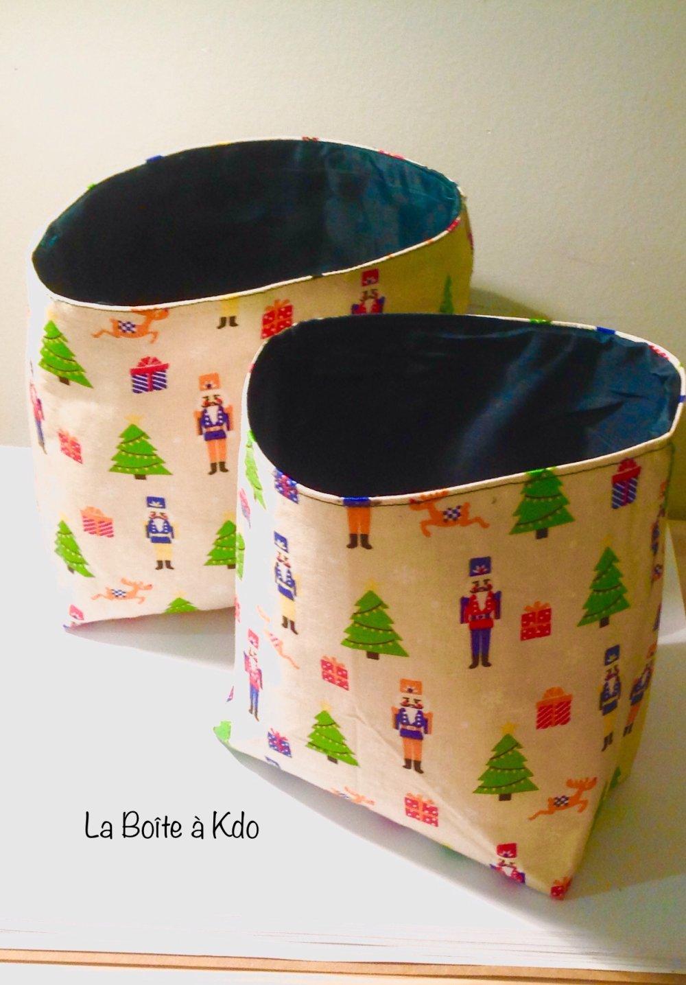 Panière de Noël - Vide poches