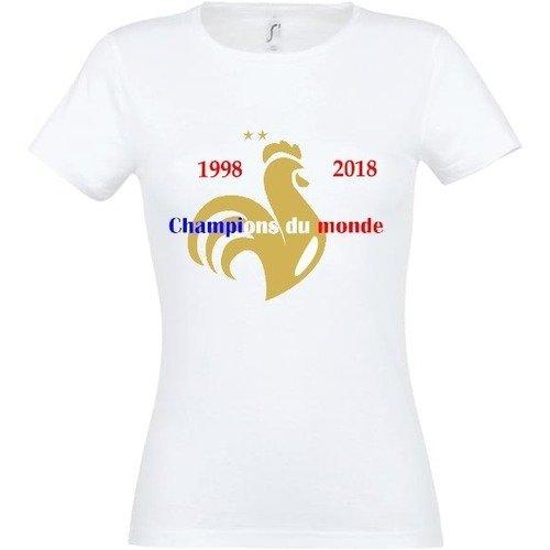T shirt femme champion du monde