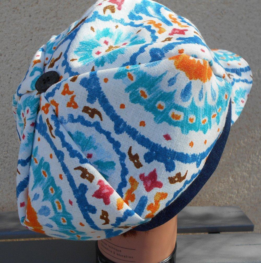 casquette été  //  gapette // chapeau femme // casquette gavroche